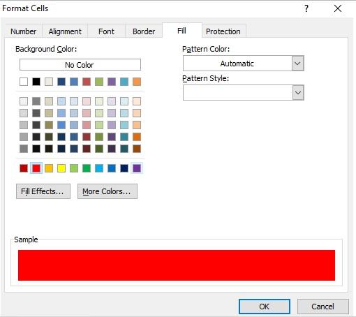 cara format cell data warna sel