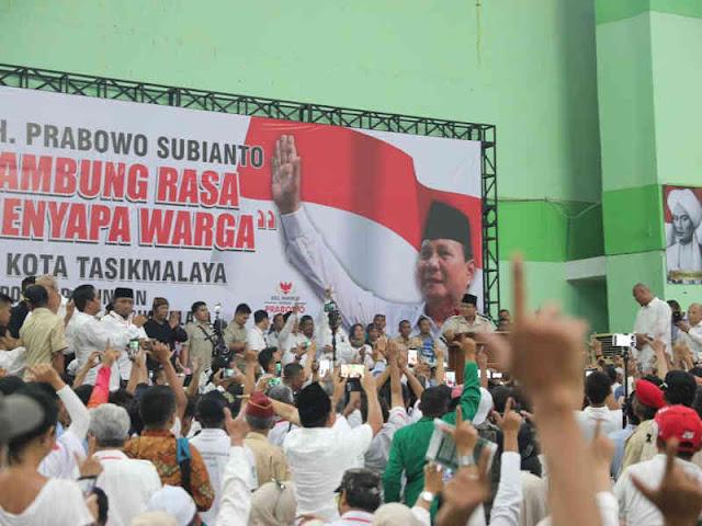 Prabowo Subianto Ingin Lebih Bicara Sama Rakyat daripada Sama Elite