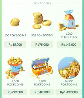 Cara Mudah Membeli PokeCoins di Pokemon Go Untuk IOS dan iPhone