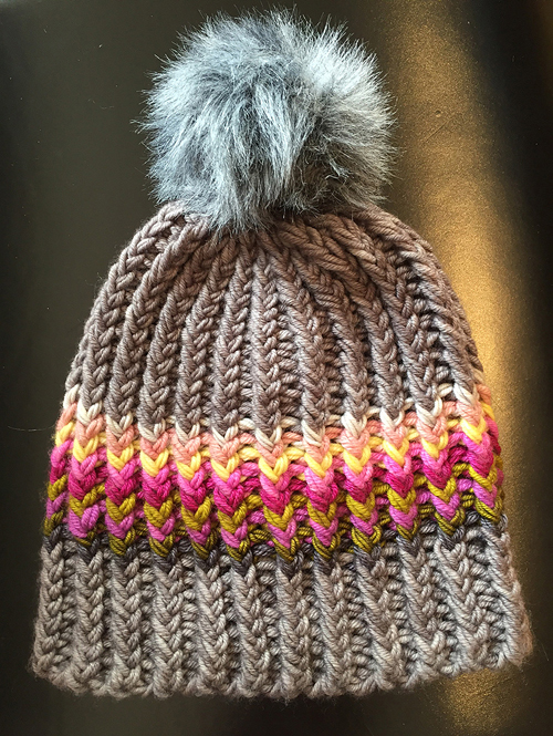 Twisted Ribster Hat - Free Pattern