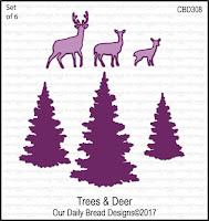 ODBD Custom Trees and Deer Dies