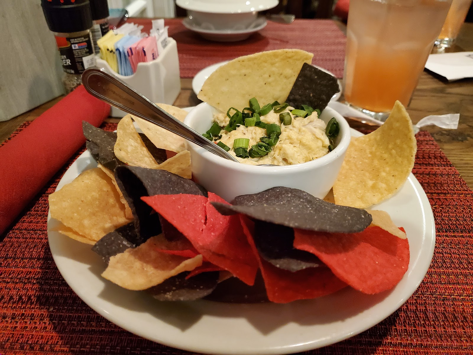Crab Dip and Chips
