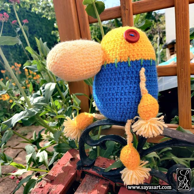 Peluche amigurumi - Lumi Mr Drippy - Ni No Kuni Saya's art jeu vidéo kawaii crochet video game plush doll
