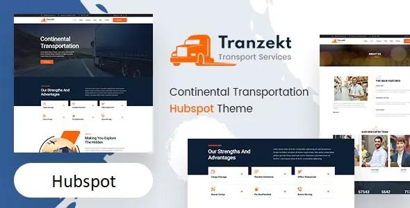 Best Transport and logistics HubSpot Theme