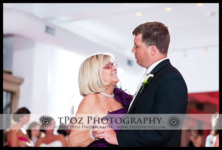 Mother Son Dance at Philadelphia Trust Wedding Reception