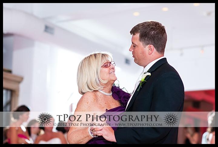 Mother Son Dance at Philadelphia Trust Wedding Reception
