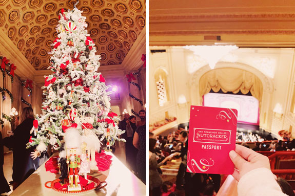 Christmas in San Francisco: The SF Ballet's rendition of the Nutcracker is a must-see!