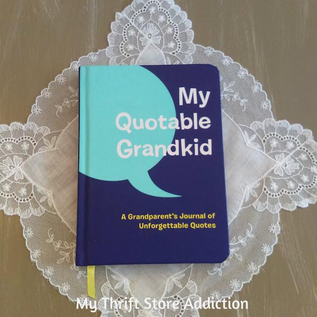 My Quotable Grandkid journal