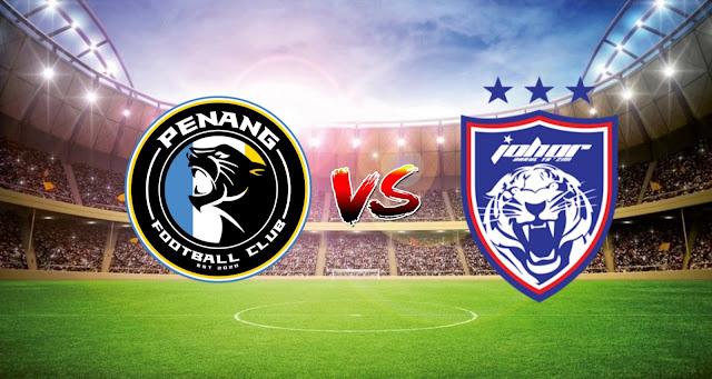 Live Streaming Penang FC vs JDT FC 8.5.2021 Liga Super