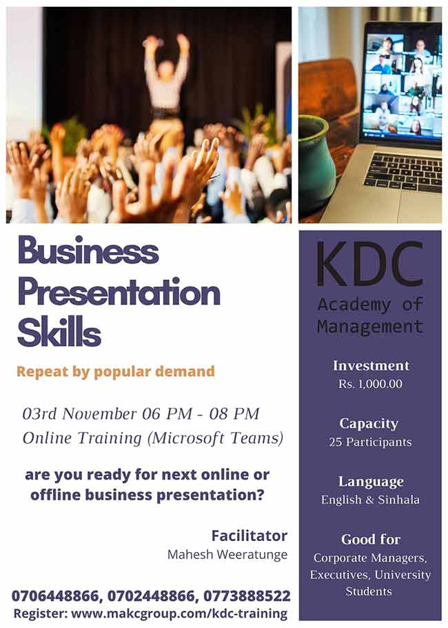 Business Presentations Skills.