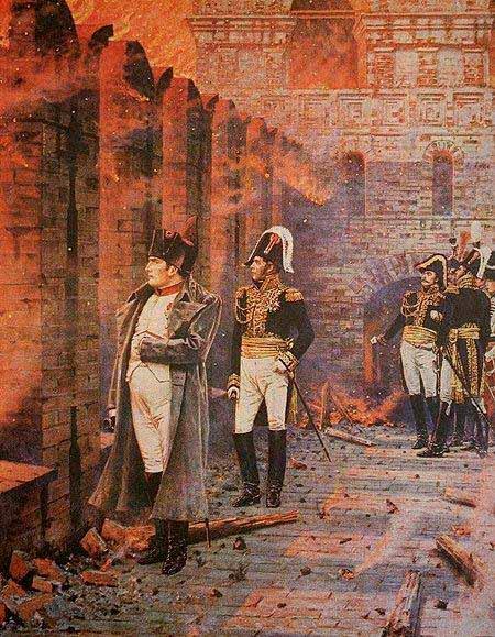 Василий Васильевич Верещагин - В Кремле - пожар. 1887-1898