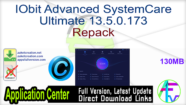IObit Advanced SystemCare Ultimate 13.5.0.173 Repack