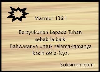 Ayat-ayat Alkitab tentang kasih Allah