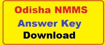 NMMS Answer Key Odisha