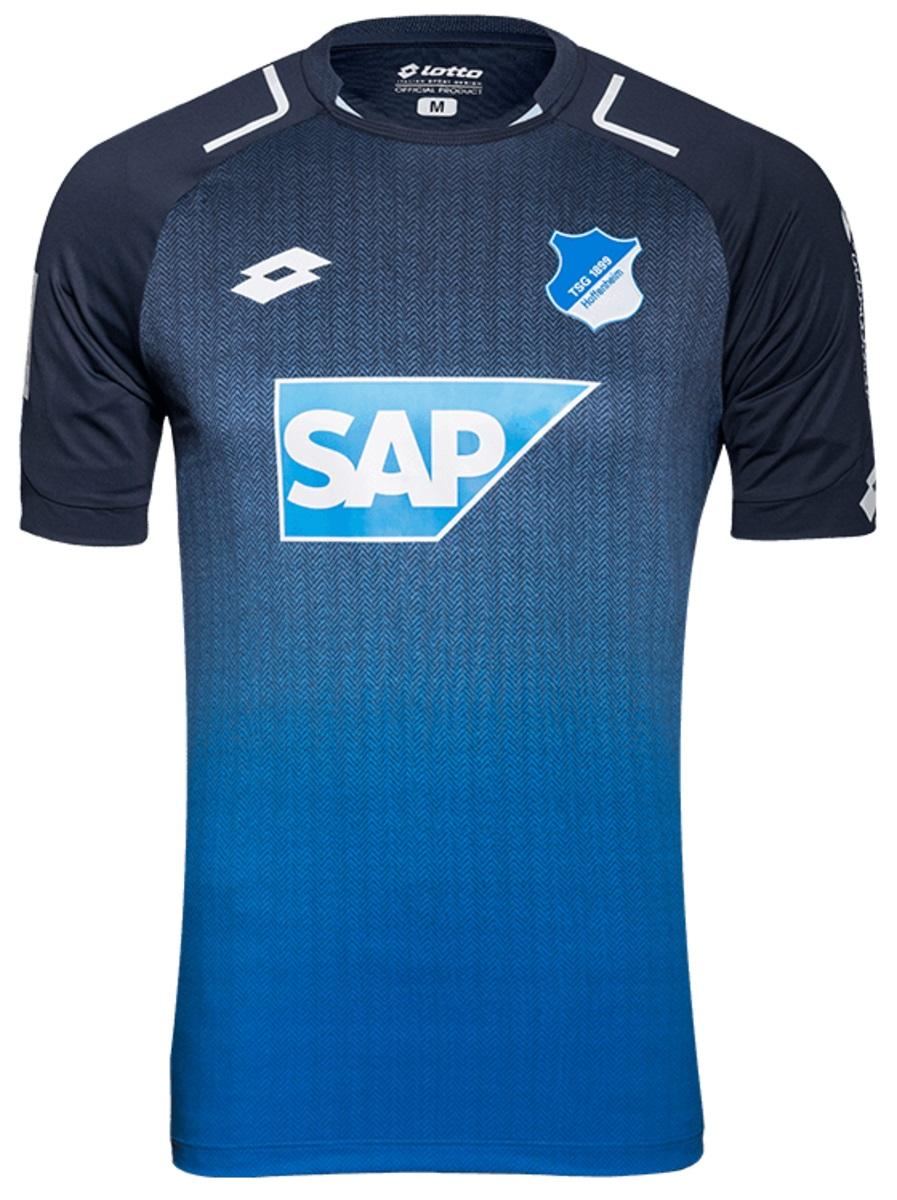 Hoffenheim lança sua nova camisa para temporada que vem  confira as ... 24bfcb3cac2ab