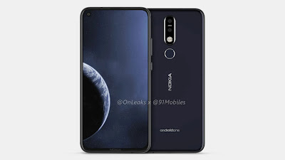 Nokia 8.1 Plus First look with punch-hole display