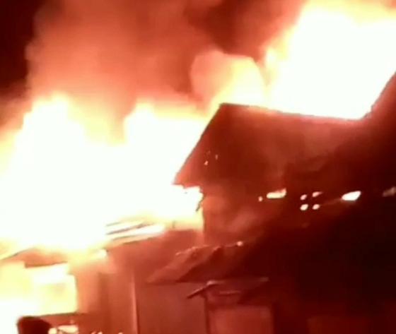 Percikan Petasan Penyebab Kebakaran di Kota Fajar