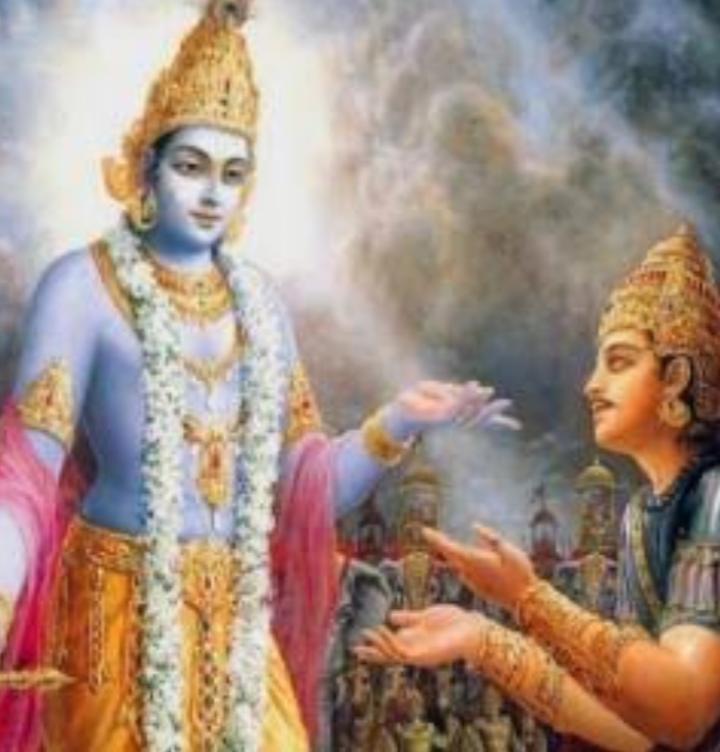 SD08, कर्म का सिद्धांत एक परिचय  --सद्गुरु महर्षि मेंहीं। अर्जुन और कृष्ण संवाद