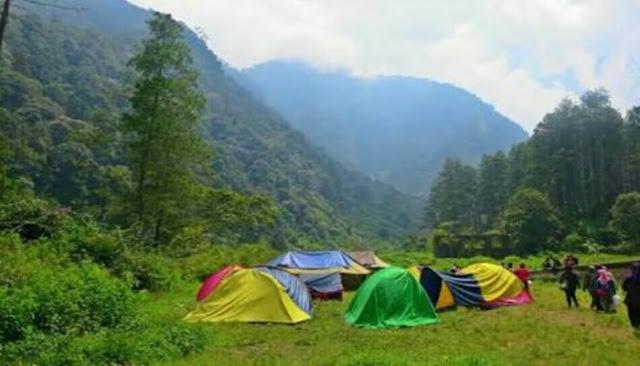 Wisata Bumi Perkemahan Gunung Puntang Bandung