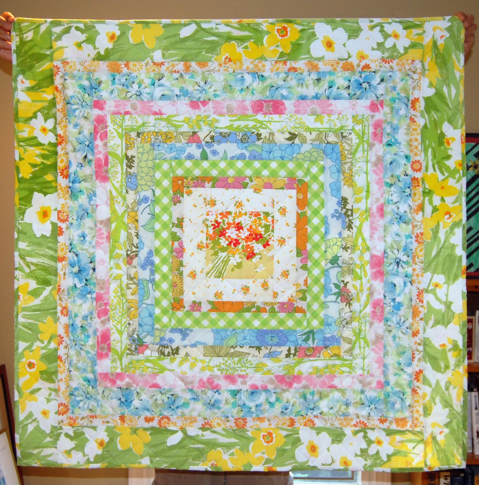 Heather Kojan Quilts Vintage Baby