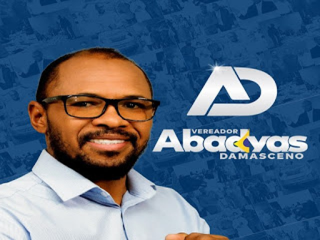 O Vereador Abadyas Damasceno do (DEM), usou a tribuna da Câmara municipal, para reafirmar seu compromisso com o município, e vem sendo destaque muito positivo em Águas Lindas de Goiás
