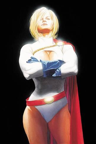 Power Girl es superpoderosa