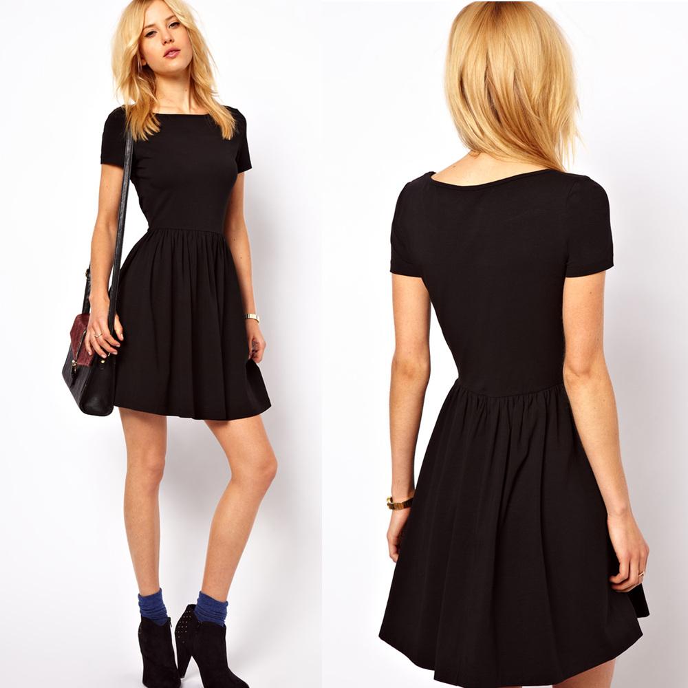 Outfit Del Día Look Con Vestido Negro Inpiración
