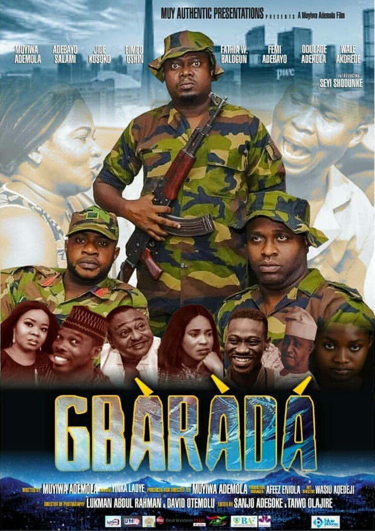 Gbarada Theatrical Release Poster