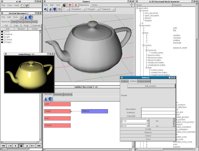 Download K-3D-Animation Software