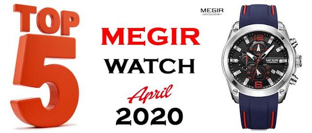 Megir watch, Megir top 5 watch 2020, chronograph watch