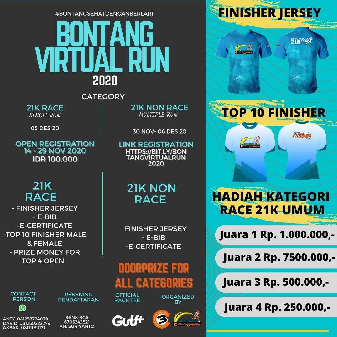 Bontang Virtual Run • 2020