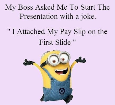My Boss Asked Me To Start The Presentation With A Joke Funny Hilarious Saying Image