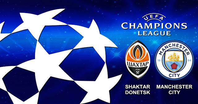 Prediksi Pertandingan Shakhtar Donetsk vs Manchester City 7 Desember 2017