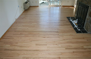 Red Oak Wood Floor Natural Refinishing Color