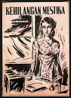 Sampul Novel Kehilangan Mustika