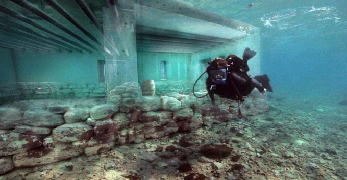 The 5,000-year-old Pavlopetri, Greece, is considered to be the oldest submerged Lost city in the world
