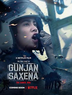 gunjan saxena, jhanvi kapoor, pilot, kargil war, woman, 1999, war, history, netflix, bollywood, actress, biopic