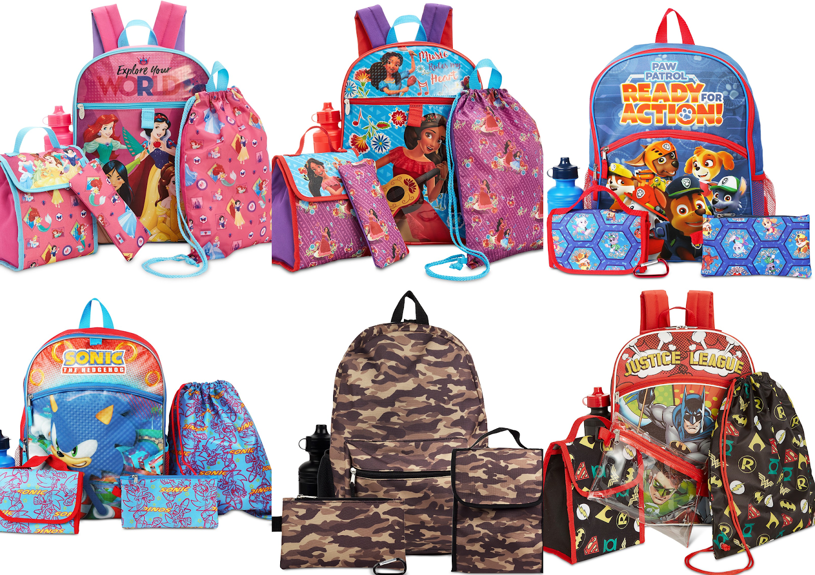Head over to Macy s and get this Kids  Character 5-pc. Backpack    Accessories Set on sale for  12.99 (Reg.  35). Includes backpack da99bf91074e9