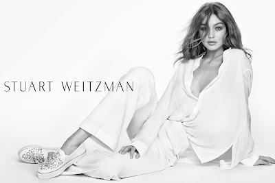 Gigi Hadid, Stuart Weitzman, Mario Testino, shoes, woman, mujer, calzado, moda, moda mujer, model, Spring 2017,