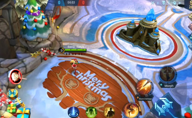 Script Map Frozen Natal HD 2020 Mobile Legends Work Classic or Ranked