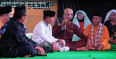 Tradisi Nolam Kabupaten Kampar - Warisan Budaya Tak Benda Riau 2020