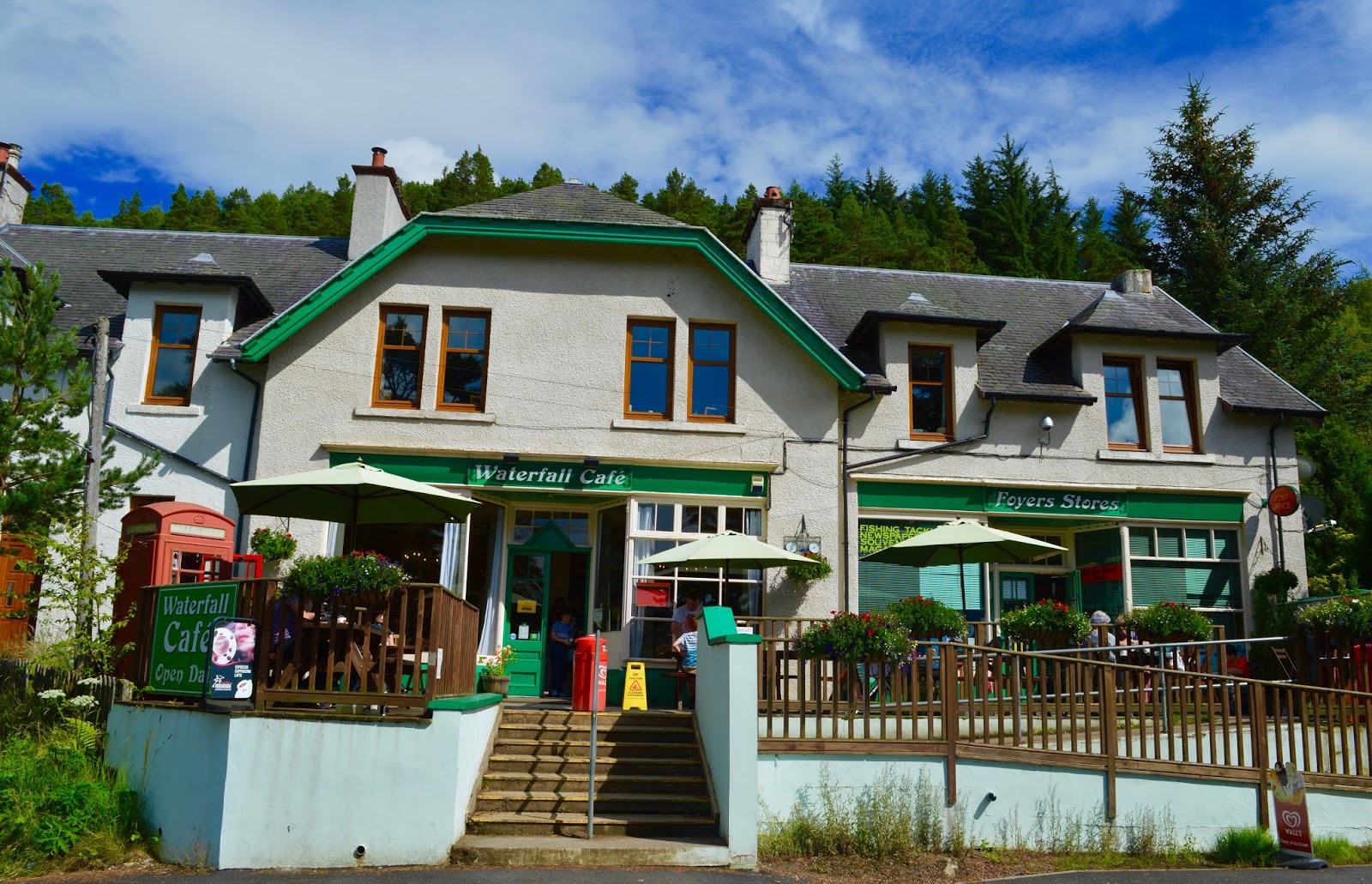 Loch Ness Shores Campsite | A Review - Foyers cafe, shop and post office