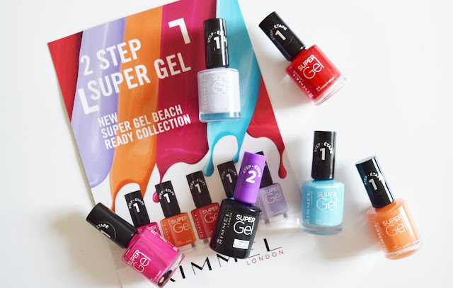 Rimmel Super Gel Beach Ready Collection