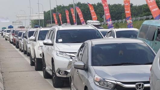18.000 Mobil Serbu Tol Trans Sumatera, GT Menggala Dibuka