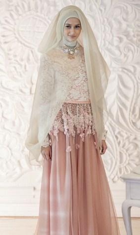 Model Kebaya Muslim pernikahan