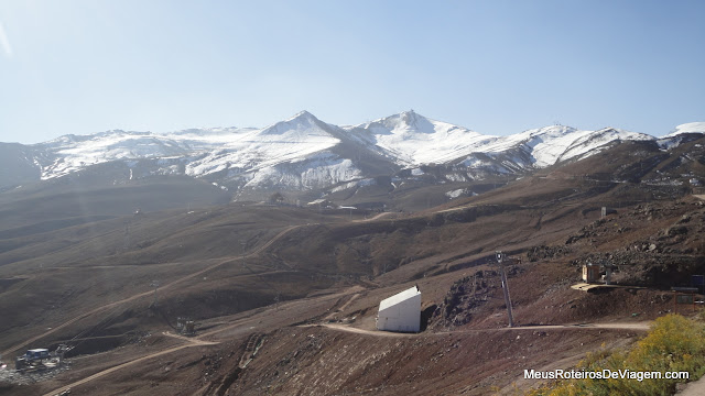 Pistas de esqui do Valle Nevado