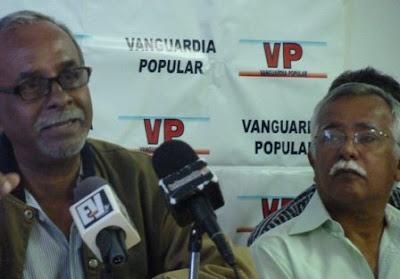 Vanguardia Popular rechaza el uso de la violencia contra el pueblo