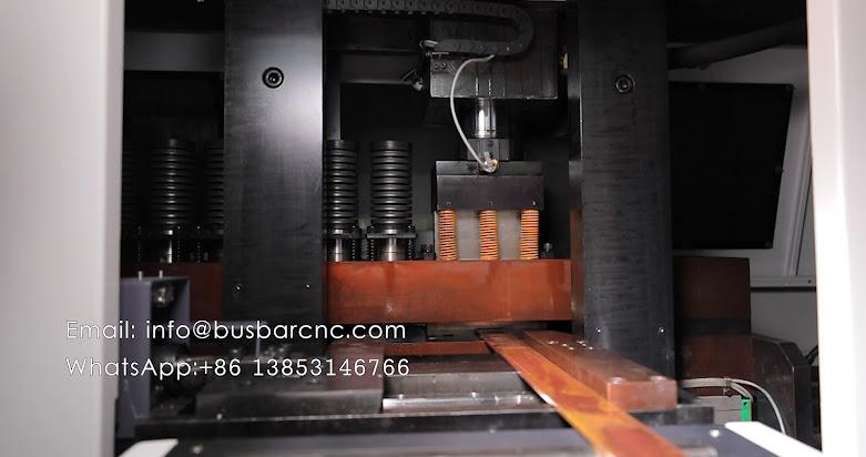 busbar cutting and punching machine