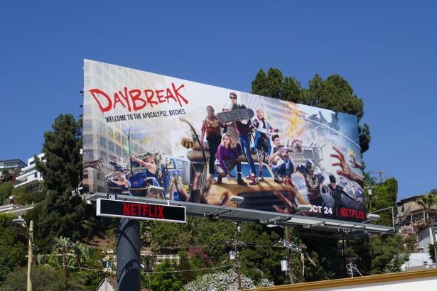 Daybreak series premiere billboard