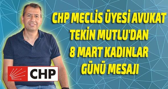 SİYASET,CHP ANAMUR,Anamur Haber,Anamur Son Dakika,Anamur Haberleri,Anamur Belediyesi CHP Meclis Üyesi Avukat Tekin Mutlu,
